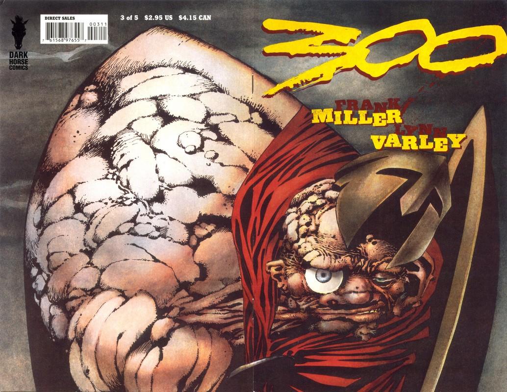 300 frank miller comic: